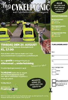 Invitation til cykelpicnic
