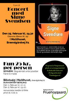 Musik på Hjemmebanen med Signe Svendsen