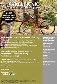 Invitation og information om cykelpicnic