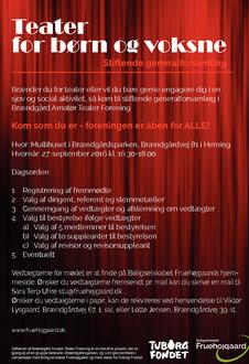 Invitation til stiftende generalforsamling